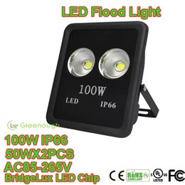 Wholesale 100W W W W LED Flood Lights Project Lamp Warehouse LED Lighting Waterproof LED Outdoor Security Lights Advertisement Signs Lamp