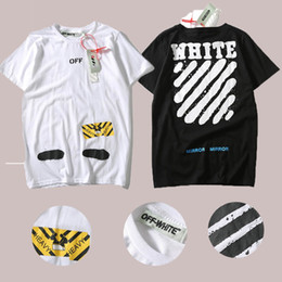 Eu Size 2017 New High Quality Off White Spoof Printing T Shirts Real Tag 1:1 Men Women Dots Printed Tee Off-white 100%Cotton T-shirt