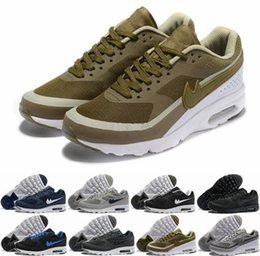 Wholesale Hot Sale Max Kids BW Mens Running Shoes Cheap All Black Sports Shoe Blue White Maxes Athletic Trainer Sneakers Air