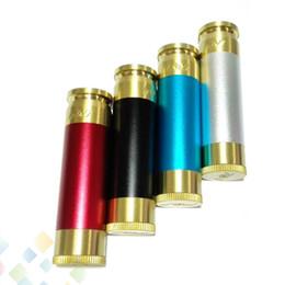 AV Able Mod Brass Material Mechanical Mod AV Style E Cigarette fit 18650 battery 510 Atomizers High quality DHL Free