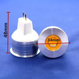 Gu4 conduit à vendre-Livraison gratuite Dimmable GU4 MR11 DC12V 5W COB LED Éclairage à économie d'énergie Ampoules Froid Blanc Blanc chaud 6pcs / lot