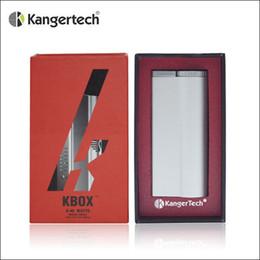 100% Authentic Kangertech Kbox 40W Box Mod kanger 40watt Mod 18650 Mod fit Kanger Subtank Mini