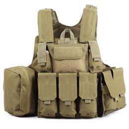 Wholesale Phantom Tactical Military Strike Battle Combat Airsoft Molle Bullet Assault Plate Carrier Vest Lightweight Comfortable Color Hot B