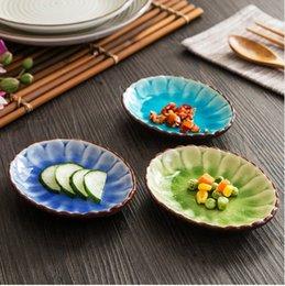 Wholesale Hon far ceramic glaze butterfly lace sculpture garden disc highgrade fruit salad snack cakes dinner plate