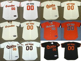 Wholesale Men s Women s Youth Baltimore Orioles Customized Any Name and Number Throwback Jersey Stitched