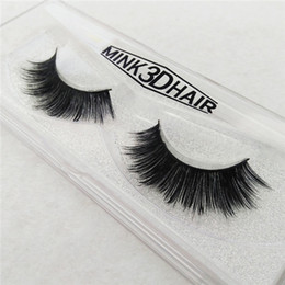 Naturel Long Crisscross Messy Soft Mink Pancre Faux Pure Handmade Coton Tige Fake Eyelashes Beauté Makeup Stage Lashes à partir de cils de scène fabricateur