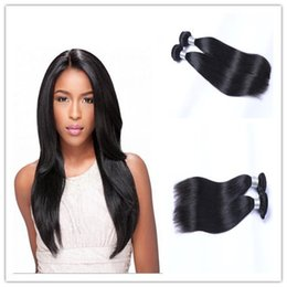 Resika Brazilian Virgin Hair Straight Human Hair Bundles Weave Unprocessed 2pcs Peruvian Malaysian Indian soft Human Hair Extensions