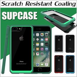 Wholesale Supcase Unicorn Beetle Scratch Resistant Coating Hybrid TPU Bumper Clear Hard PC Cover Case for iPhone7 Plus S SE S Samsung Note S6 Edge