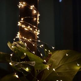 Оптово-Декор сада 10M 100 светодиодных медных проводов Солнечный свет Строка Фея Панель солнечных батарей Lampara для Chrismas декора Реквизит 2016 года от Производители lampara панель