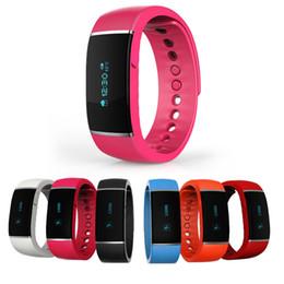Moniteur de sommeil podomètre à vendre-Nouveau S55 Smart Bracelet Étanche Bluetooth 4.0 Band Podomètre Santé Wristband Sleep Monitor Smartband Pour Android IOS Téléphone