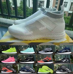 Wholesale Ace PureControl Ultra Boost Black White Solar Yellow Men Running Shoes Sneakers Originals Runner Primeknit David Beckham Boosts
