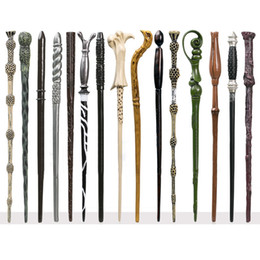 Wholesale 18 designs available Harry Potter Hogwarts Magic Magical Wand Wizard dumbledore Hermione Voldemort