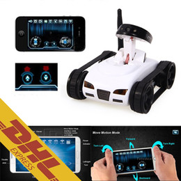 Wholesale 8pcs I SPY Mini RC Tank Ispy M HD Camera Video Car Wifi Wireless Realtime iOS Android Remote Control iPhone iPad Spy Toys for Kids