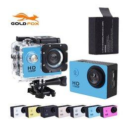 2017 caméra de voiture de vélo Grossiste - GOLDFOX SJ 4000 Sport Mini caméra caméscopes caméra vidéo étanche 720p HD bicyclette casque photo caméra Go Car Pro Style caméra de voiture de vélo offres