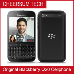 Classic BlackBerry Q20 mobile phone 4G LTE BlackBerry 2GB RAM 16GB ROM Dual Core 8MP cell phones 3.5inch NFC HDMI DLNA WLAN