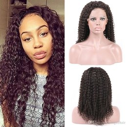 "Human Hair Lace Front Wigs Human Hair Lace Front Wigs Lace Wigs Kindly Curly Full Thickness for Black Women 130% Density 6""-24"" in stock"
