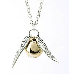 Anges ailes en Ligne-Vente en gros-New bijoux de mode Angel ailes pendentif collier cadeau pour les femmes fille N1540
