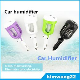 Wholesale Car Humidifier Air Mist Diffuser Purifier Car Humidifiers Air Cleaning Mini Charging Portable Water Bottle Steam Humidifier