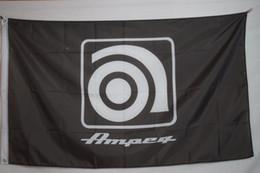 Wholesale Ampeg Advertising Promotional Banner Flag X5Ft Custom Football Hockey College Baseball Flag