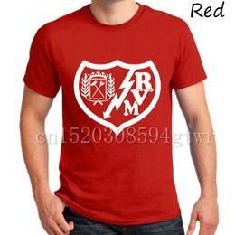 2017 Rayo Vallecano FC club fans Rayo Tees T-Shirt Spagna Miku Javier Guerra Roberto Trashorras Gayoso Camiseta T Shirt Embarba
