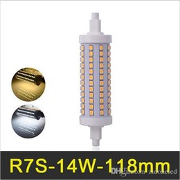 R7S maïs conduit 118mm 14W SMD2835 Lampada ampoules LED Dimmable Bombillas LED Light AC110-240V Remplacer le projecteur halogène à partir de fabricateur