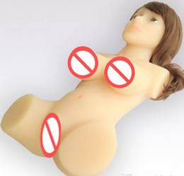 sex doll for men Silicone SexDoll Arrival Size Lifelike Doll Men's Masturbator With Two Tunnels full silicone dolls for sex,sex products