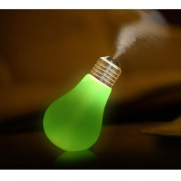 Wholesale CAROLA New Antique Lamp Humidifier Colorful LED Night Light Ultrasonic Essential Oil Diffuser USB Mini Home Desktop Humidifier color