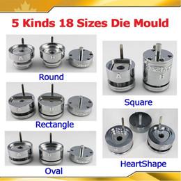 Wholesale Interchangeable Die Moulds for Pro Button Maker Badge Machine Sizes