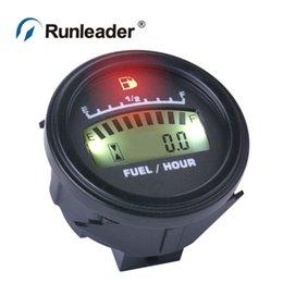 Wholesale Runleader FM001 LCD Fuel Gauge DC powered For Motorcycle Jet Ski Marine pit bike motorbike Generator Engine