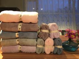 New 5 color soft quick dry microfibric bath towel set 1piece hand towel and 1piece bath towel free shipping