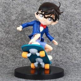 2017 la figure conan Classe enfants chlidren jouets et cadeaux 17cm Détective Anime Conan Edogawa Conan Edogawa Figurine PVC Jouet Collectible la figure conan sur la vente