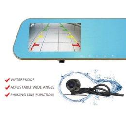 Nouveau miroir voiture DVR caméra de soutien de sauvegarde des caméras arrière FHD 1080P Enregistreur Video Registrator Parking Monitor Auto Black Box Logger à partir de moniteur de sauvegarde vidéo fournisseurs