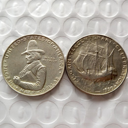 Hot Selling 1920 Pilgrim Commemorative Half Dollar Promotion Cheap Factory Price nice home Accessories Silver Coins