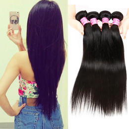 Wholesale Cosy Brazilian Straight Hair Weaves or Bundles Human Hair Sew in Extensions DH Gate Unprocessed Straight Virgin Hair Dyeable