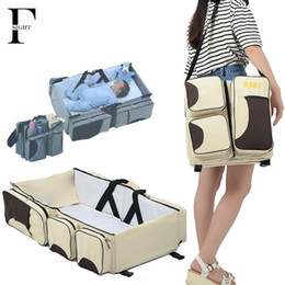 Wholesale Portable Newborn baby bed Folding travel bassinet carrycot infant Crib cot bag in mummy maternity diaper bag change station