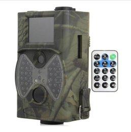 La caza cámara de exploración gsm en Línea-La visión nocturna video MMS GPRS de la cámara HC-300M 12MP 1080P de la caza de la venta al por mayor-Suntek que escanea el rastro infrarrojo GSM 2.0 'del perseguidor 940NM Cámara del cazador