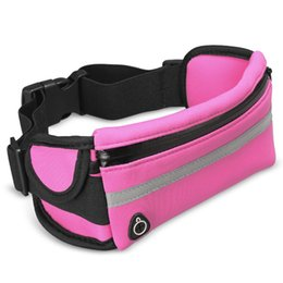 Wholesale Waterproof Sports Waist Pockets Universal Belt Pouches For iPhone Functional Running Bags For Samsung with OPP Package