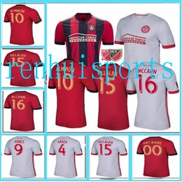 Wholesale 17 Atlanta United FC Jerseys Shirt Home Away Jersey or more free to send DHL