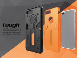 Protection téléphone cellulaire à vendre-Nillkin Defender 2 génération pour iPhone 7 cas 2 en 1 étuis pour téléphone portable anti-chute coque de protection de téléphone portable de luxe