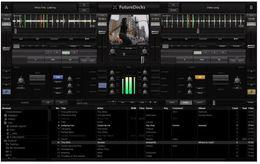 FutureDecks DJ Pro v3.6.4.0 English version of professional DJ mixing software