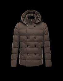 Франция человек для продажи-Зимняя куртка мужская вышивка бренд 2015 france фирменный логотип M мужской утка пуховик пальто jaqueta masculina men верхняя одежда пальто