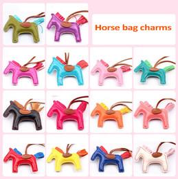 Wholesale Tassel Horse Bag Charms For Handbags Decoration Colors High Quality Handmade PU Handbag Bag Charm