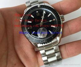 Wholesale Excellent High Quality JH Factory mm Ceramic Stainless Steel Planet Ocean Co Axial Asia Movement Automatic Mens Watch Watches