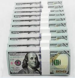 Wholesale 1000pcs SIZE New Versions USD Play Money Fake Banknotes Paper Money UNC