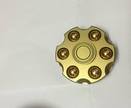 Bei fen Fidget Spinner Model of Bullet Clip Warhead Metal Hand Spinner Autism Adult Anti Relieve Stress Tri-spinner Stress Wheel