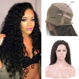 High Quality Full Lace Human Hair Wigs For Black Women With Baby Hair Pre Plucked 130% Brazilian Kinky Curly Human Hair Wig