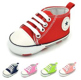 Acheter en ligne Étude sur les enfants-Brand Mini enfants Chaussures enfants filles Garçons mignons antidérapants enfants en bas doux Étudier chaussures de marche chaussures de bébé d'expédition gratuite
