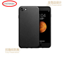 Wholesale 2017 new leather case for Ipone Ipone plus moblie phone case Good quality TPU material from LINGTONGDA
