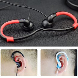 Wholesale Professional Supra Aural Running Wired Ear Buds Earphone Extra Heavy Bass Sports Earphone Headphone with Microphone