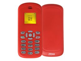 Wholesale Cheapest Basic Mini ZTE S500 Mobile Phone Original ZTE With Inch Screen Single Sim Card Support English For Older GSM Unlocked Phones